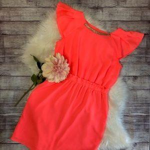 Gianni Bini Dresses - GIANNI BINI Women's Neon Coral Dress
